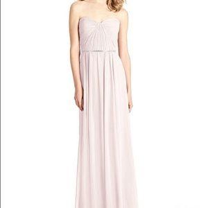 NWOT Jenny Packham Strapless Pleated Bodice Dress